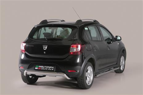 pp1347ix pare choc arriere inox 50 dacia sandero stepway 2013 dacia sandero stepway. Black Bedroom Furniture Sets. Home Design Ideas